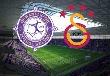 Osmanlıspor Galatasaray istatistikler