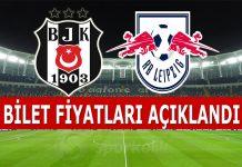 Beşiktaş RB Leipzig maçı