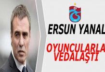 Ersun Yanal istifa