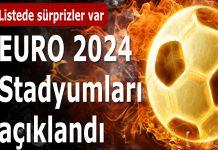 Euro 2024 stadyumları