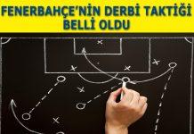 Fenerbahçe derbi taktiği