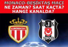 Monaco Beşiktaş maçı