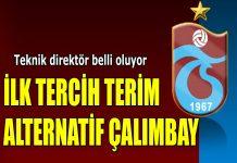 Trabzonspor Fatih Terim - Rıza Çalımbay