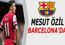 Mesut Özil Barcelona