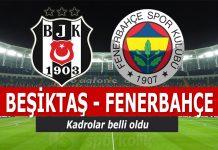 Beşiktaş Fenerbahçe derbisi