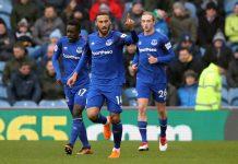 Cenk Tosun Everton Premier Lig