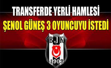 Beşiktaş yerli oyuncu transfer hamlesi