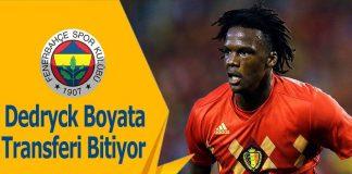 Dedryck Boyata Fenerbahçe