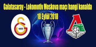 Galatasaray - Lokomotiv Moskova maçı canlı izle