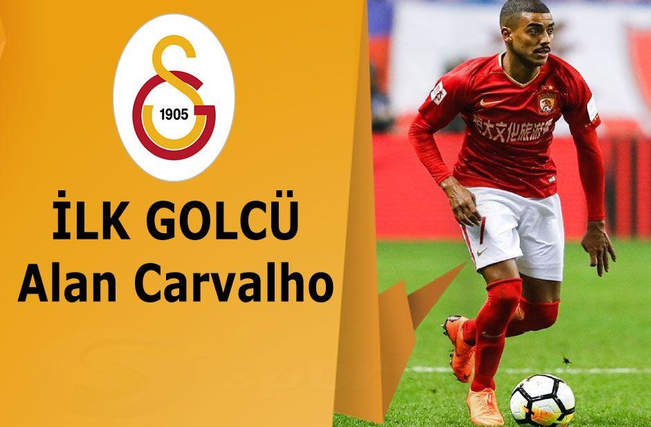 Galatasaray Alan Carvalho transferi