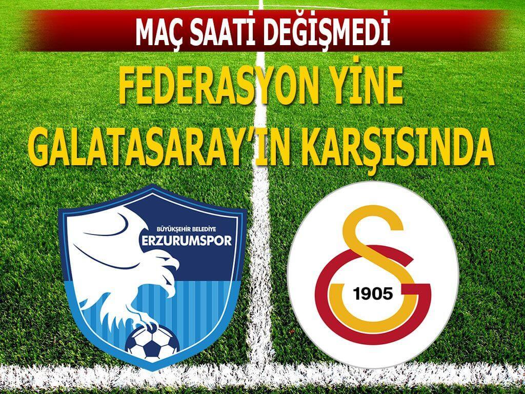 Erzurum Galatasaray maçı